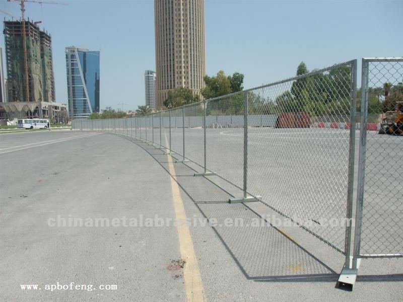 hot dipped galvanized crash barrier