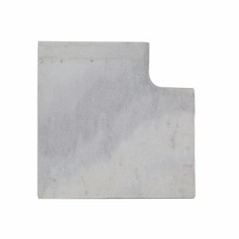 Samistone Natural Marble Swimming Pool Coping Stones Rain Clouds Pool Coping