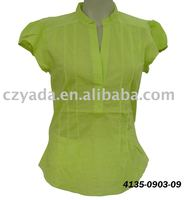 Neck Design of Blouse ladies top casual wear blouse