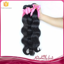 Factory Price Large Stocks All Length Available Natural Black Human Hair Weave
