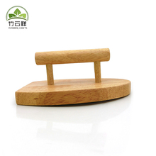 Wooden iron model Rubber wood iron wooden craft iron