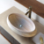 Custom Made Natural Stone Sink and Stone Bowl for Bathroom Decoration