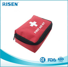 Factory supply CE/FDA/ISO certification first aid kit with medical supplies