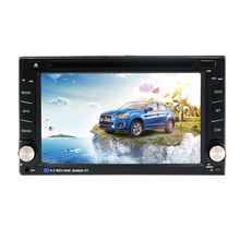 GPS Navigation 2 Din Car DVD CD Player 6.2 Inch GPS Car Stereo Radio