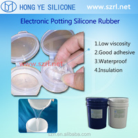 HTV Black Color PCB Electronic Potting Silicone