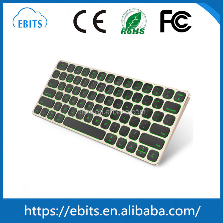 Ultra-slim wireless connection computer mini bluetooth electronic keyboard wholesale price
