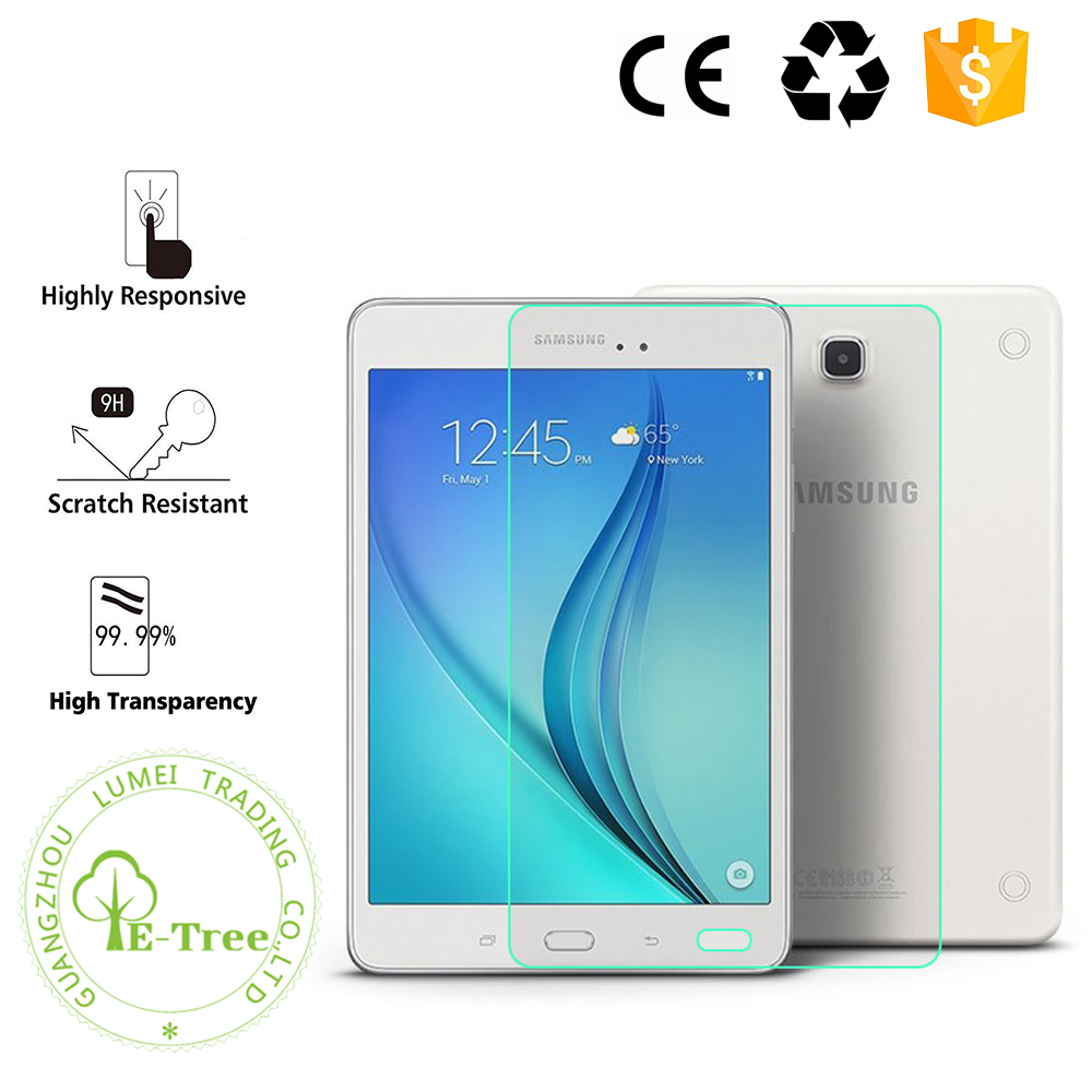 Wholesale Universal 9H Tempered Glass Screen Protector For Samsung Galaxy Tab Tablet
