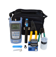 FTTH Fiber Optic Tool Kit / OTDR / Optical Power Meter /Fiber Cleaver VFL/ VFL / Connector Cleaner