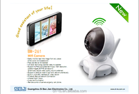 Android IOS Wireless Pan- Tilt Wifi Camera with Night Vision