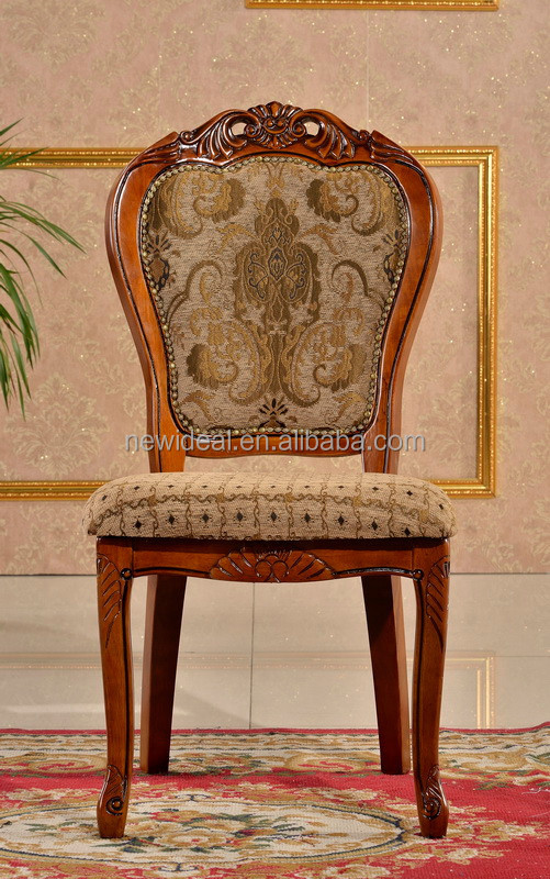 hand carved wooden dining chair modern (NG2635)