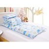 Baby and kindergarten 100% cotton quilt 3 pieces bedding sets elephant peter