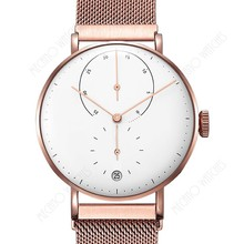 Hot selling details quartz watches with Japan movement stainless case OEM design and logo