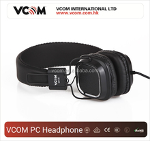custom design fashion durable super quality stereo 40mm driver PC headphone with microphone