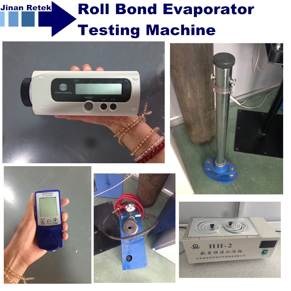 Roll Bond Evaporator Testing Machine