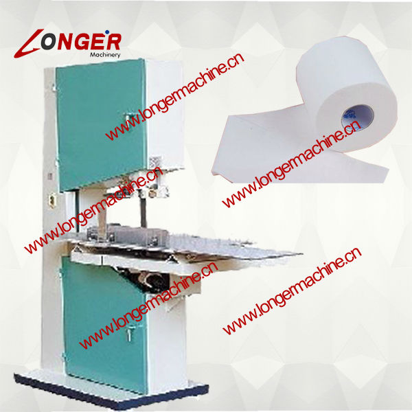 Tissue Roll Paper Cutting Machine| Tissue Roll Band Saw Machine
