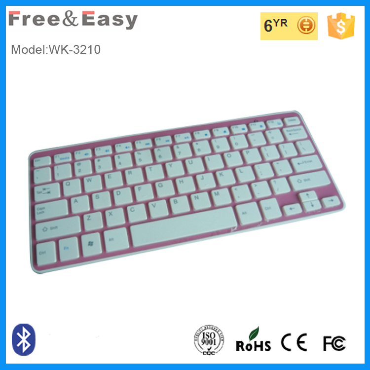 Free&easy company made wireless bluetooth keyboard 2.4 GH with hgih quality