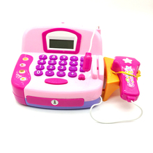 Hot sale kids electronic smart cash register toy