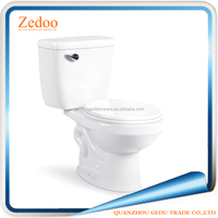 ZD-8002 New Design Washdown two piece Chinese bathroom Ceramic toilet