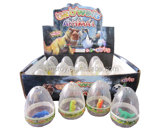 Hot Sale growing dinosaurs egg toys in water growing magic toys