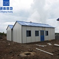 China low cost popular installation prefabricated building for camp site