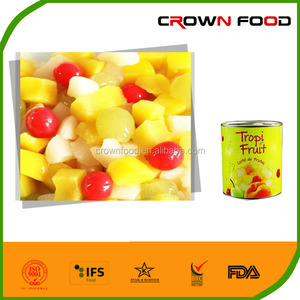 canned fruit cocktail 3000g