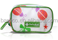 Baby care First Aid Kit/ Children medical first aid bag PU round case with CE/FDA/ISO