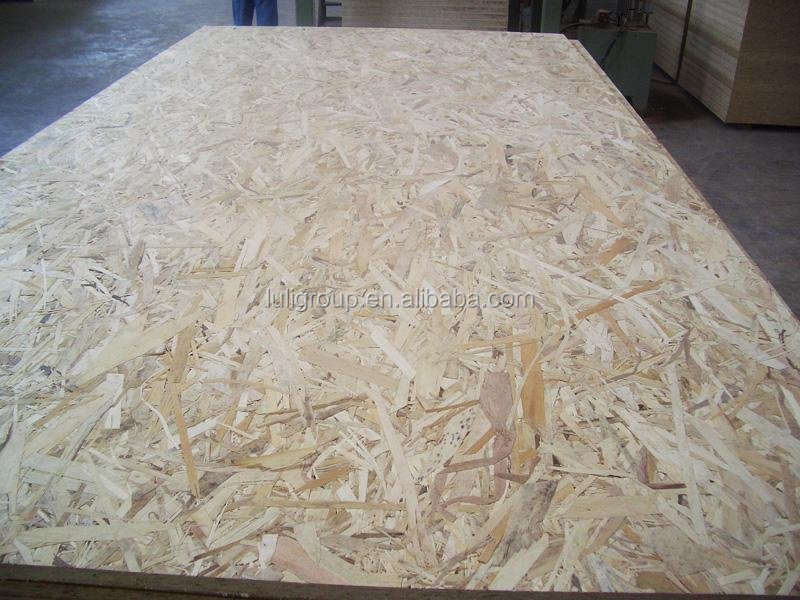 6mm osb3 for decoration use with melamine glue