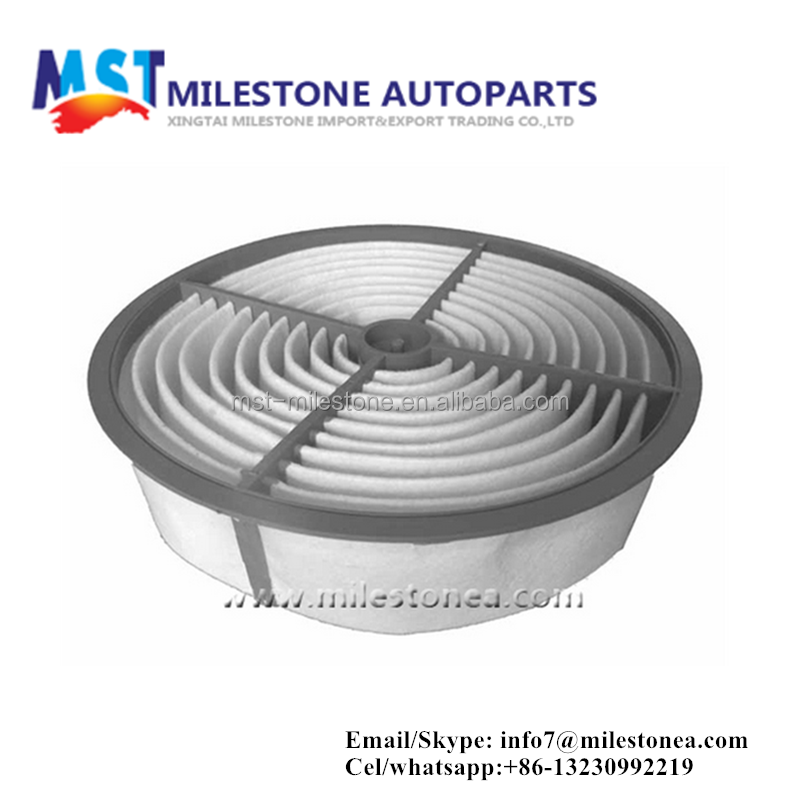 China manufacturer auto spare part air filter 17801-50010