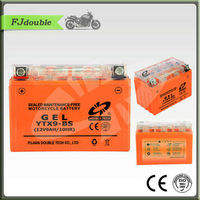 BEST YTX9-BS(12V 9AH) DRY CHARGED GEL SOLAR MOTORCYCLE BATTERY