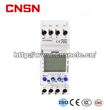 AHC822 multi-function DIN Rail LCD Digital Timer Switch, Weekly Program Time Switch