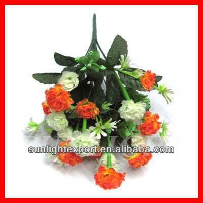 Wholesale imitation flower arrangement in different colors