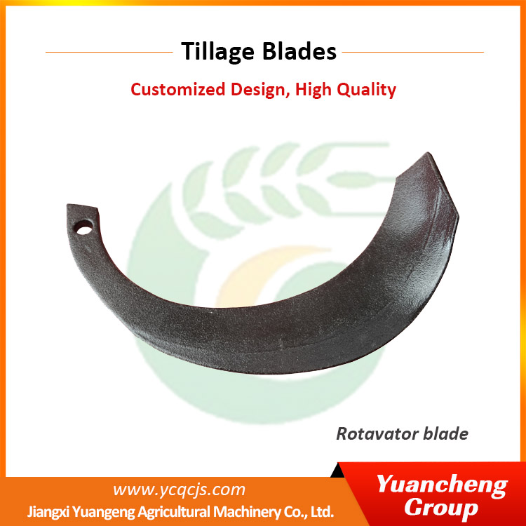 Agricultural Plough Blades Small Tractor Rotavator Blade