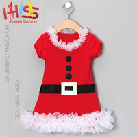 Latest party wear dresses for girls christmas baby girls dresses HSD7980