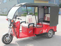 48V 800W 3 Wheel Electric Tricycle Passenger Auto Rickshaw Battery Operated Popular in India