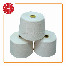20S/3 high twisted 100 polyester spun yarn for sewing thread raw white for cone