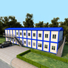 affordable steel structure prefab house and container house german for sale Chinese manufacturer