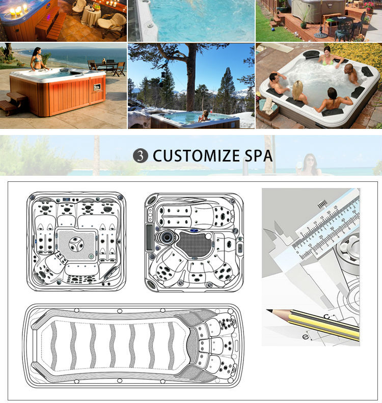Hot Sale! portable outdoor hot tub