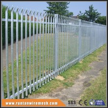 High Quality palisade /palisade fence /steel palisade security fencing( 20 years professional factory)