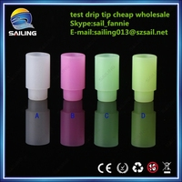 electronic cigarette mouthpiece ecig disposible drip tip silicon 510 mouthpiece for testing sub ohm tank atomizer