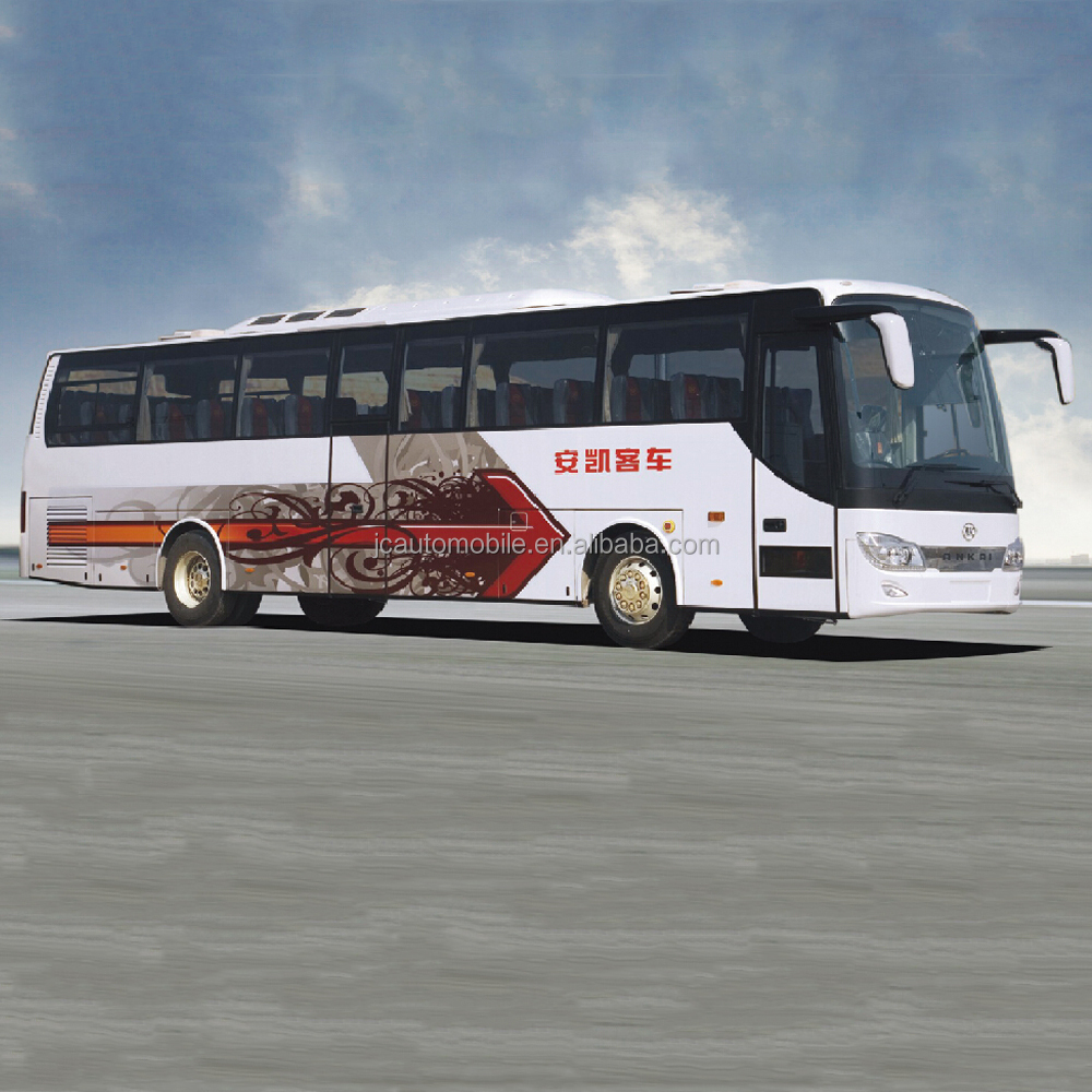 12m 50 seater passenger bus luxury Zhongtong bus price