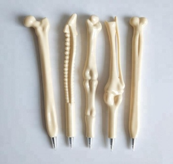 promotional plastic bone shape ball pen