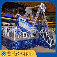 [lixin] rides 2016 new products amusement ride snow pirate ship for sale