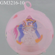 wholesale decorative christmas hand blown glass ball