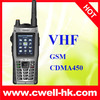 Explorer A9 IP67 Waterproof CDMA450MHz Dual Mode Long Standby Time Battery VHF Walkie Talkie mobile phone