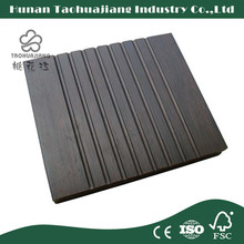 Construction Building Materials Outdoor Strand Woven Bamboo Decking , Outdoor Deck Floor Covering , Bamboo Decking