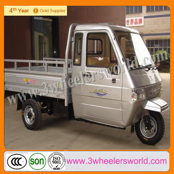 Chongqing New Design Enclosed Motor Motorized cargo Tricycle for Adults