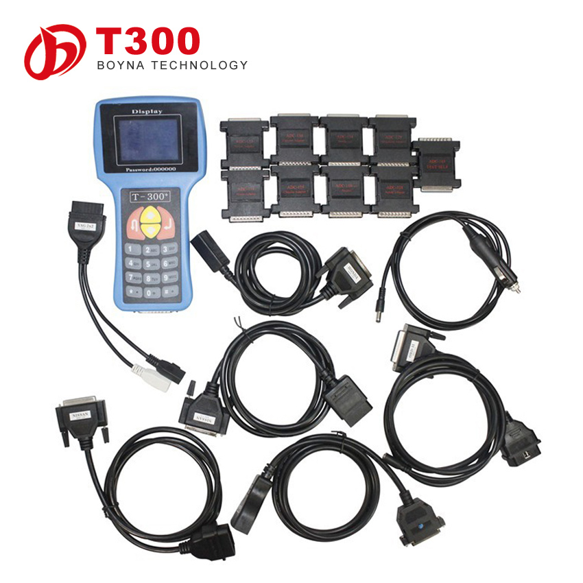 English& Spanish Optional T300 transponder key programming machine T code t300 key programmer locksmith tools could not update
