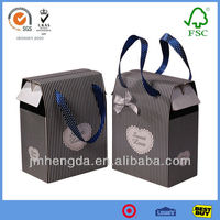 Good quality fashion new design paper gift bags wholesale