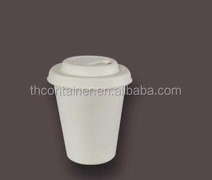 High quality disposable natural pulp straws cup