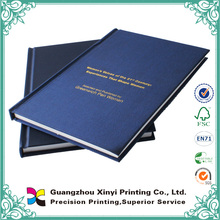 Custom textile souvenir design printing hardcover photo book